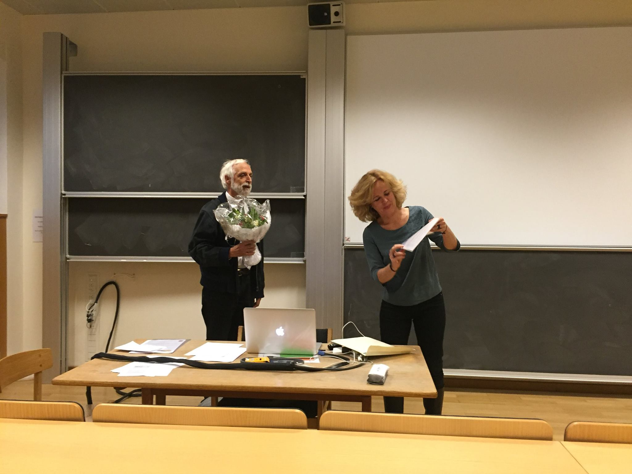 Anja Andersen modtager Lysets Års formidlingspris